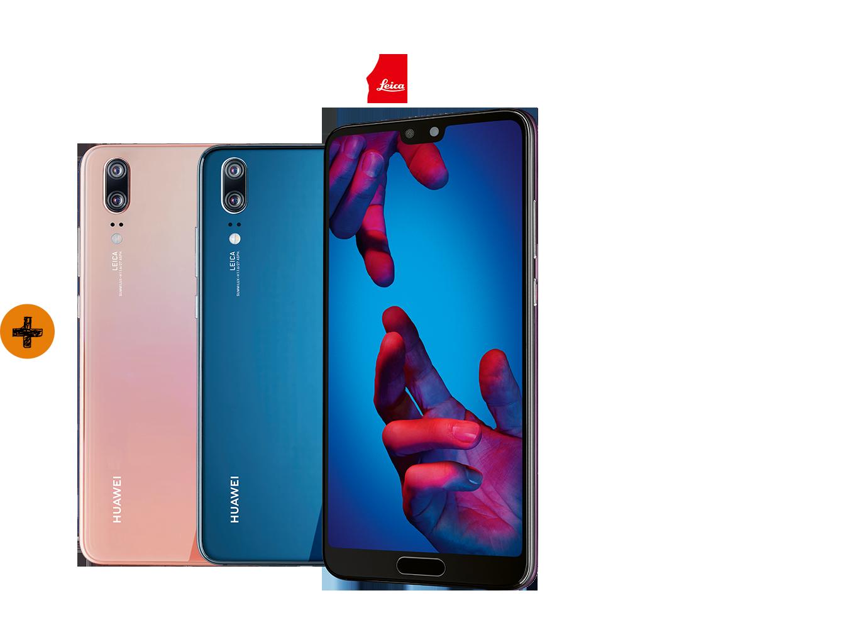 Allnet Flat mit Huawei P20 bestellen und Ersparnis sichern!