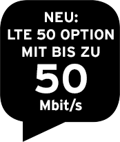 Neu: Highspeed Option