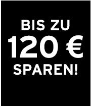 Bis zu 120 € sparen!