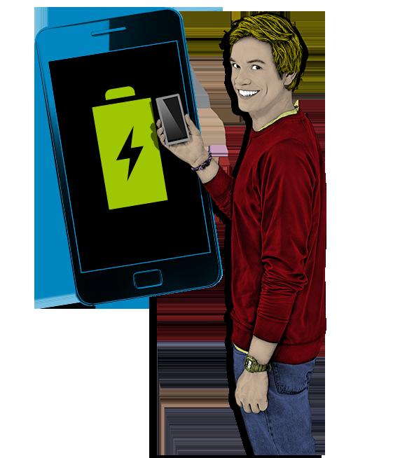 Akkuleistung von Smartphones erhöhen