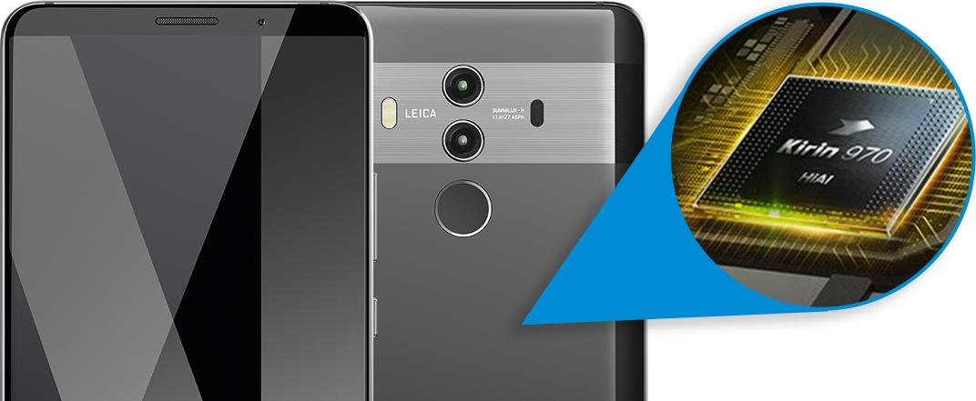 Huawei Mate10 Pro mit der