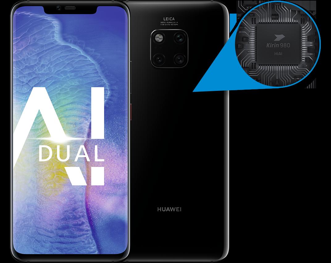 Huawei Mate20 Pro mit der
