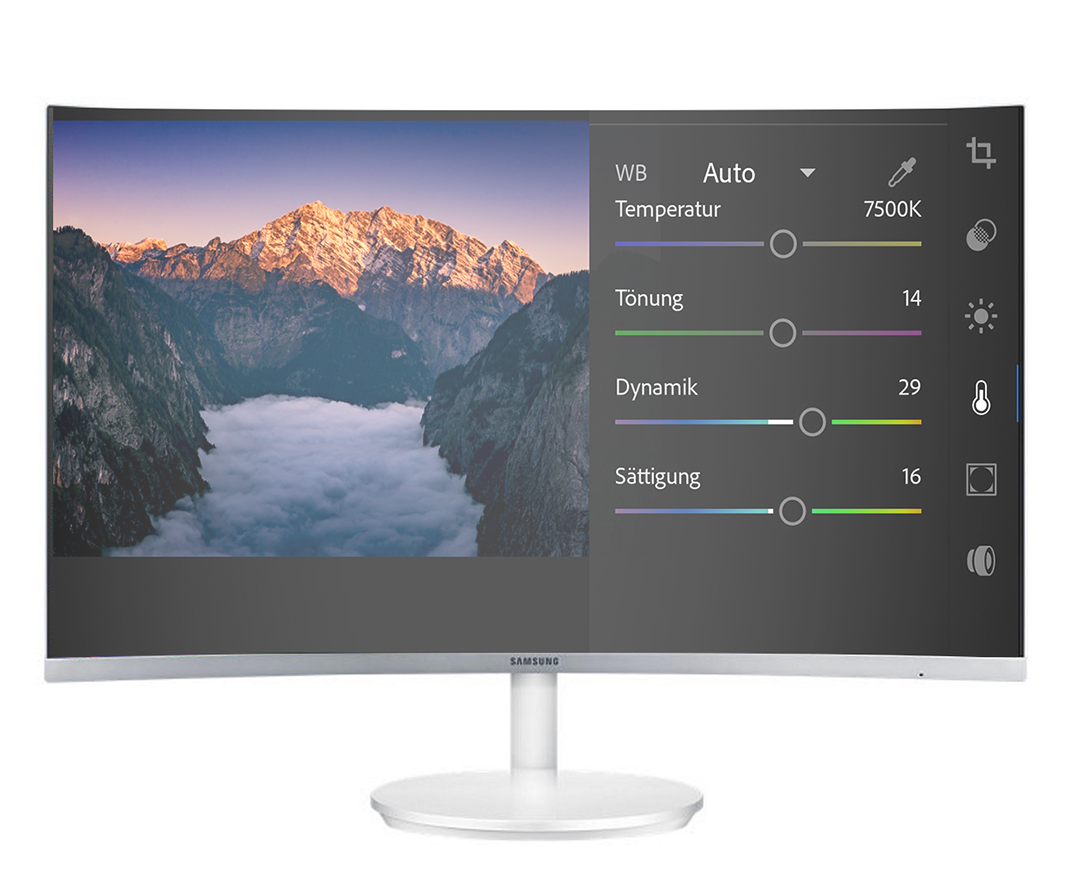 Adobe Lightroom mobile an Samsung DeX Station