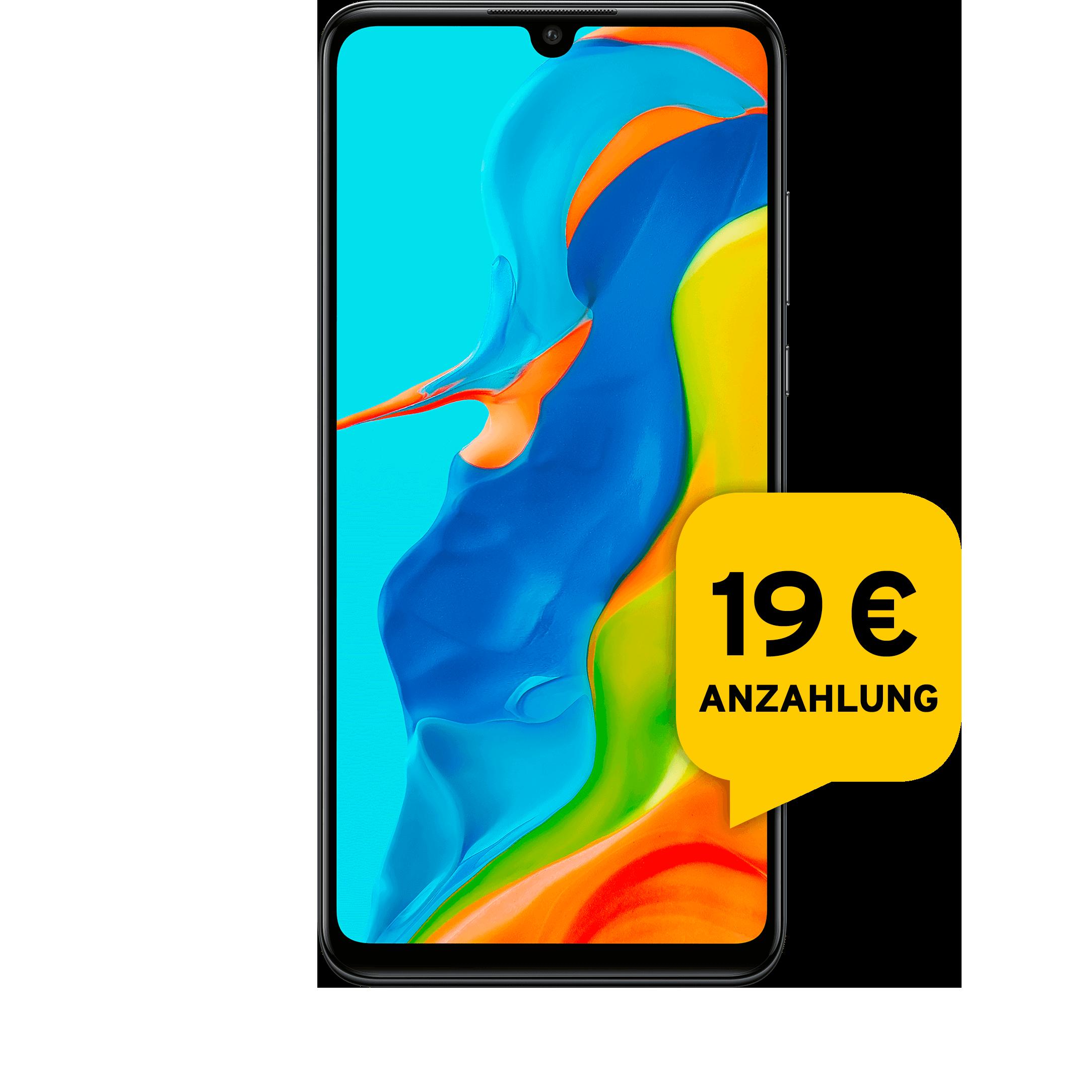 Günstig Kaufen beim Preisvergleich-Huawei P30 lite New Edition 256 GB schwarz Aktion mit Allnet Flat L