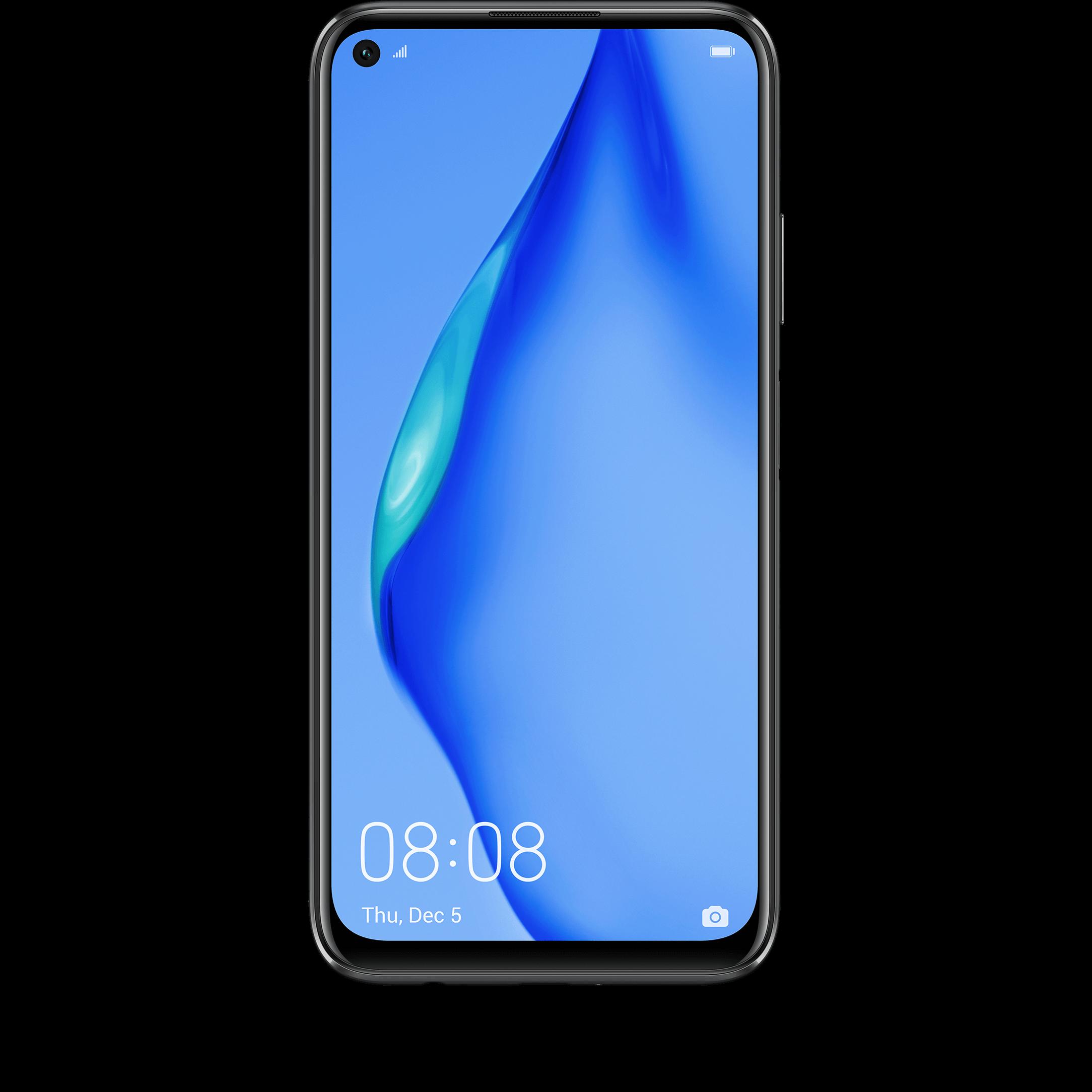 Günstig Kaufen beim Preisvergleich-Huawei P40 lite 128 GB schwarz mit Allnet Flat L