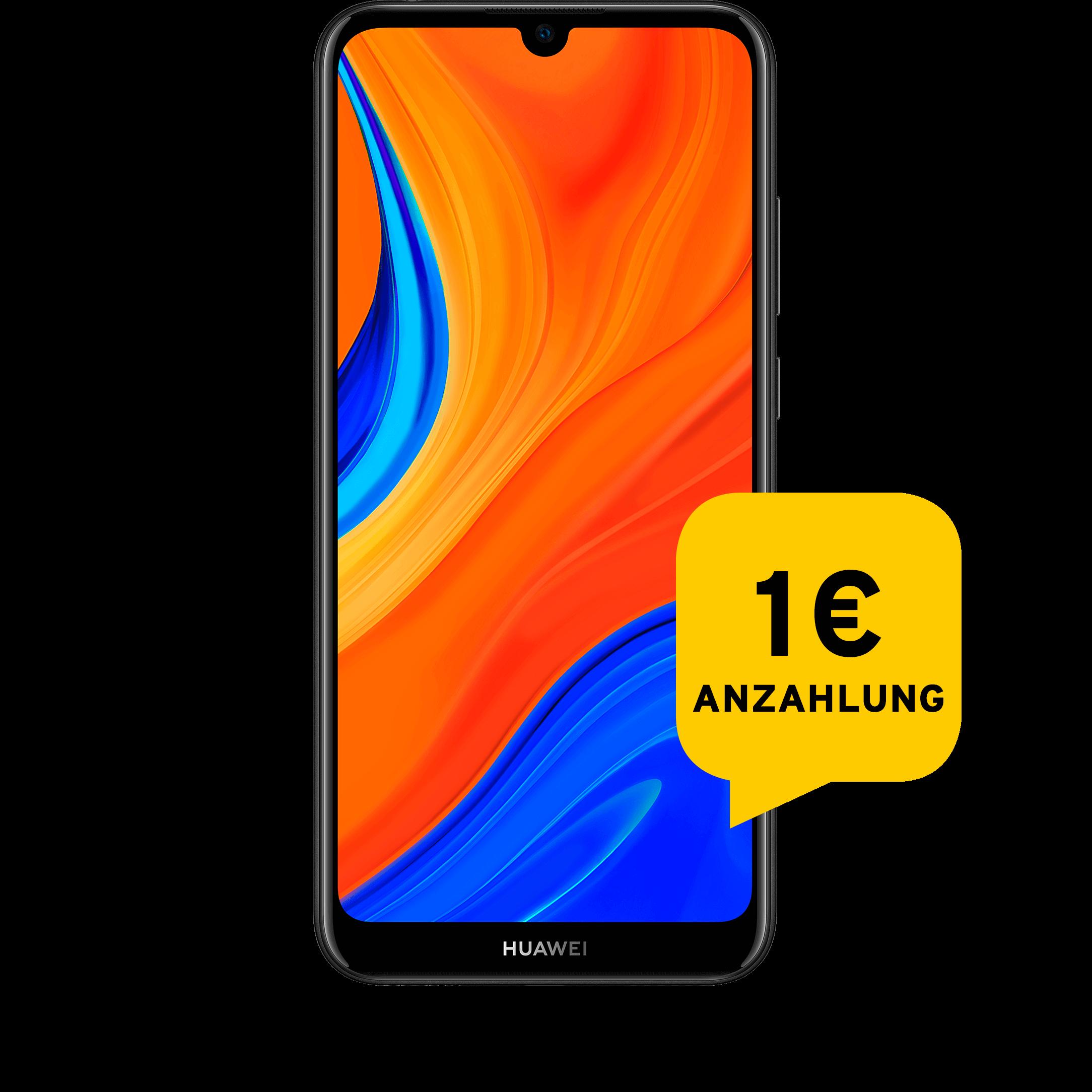 Günstig Kaufen beim Preisvergleich-Huawei Y6s schwarz Aktion mit Allnet Flat L