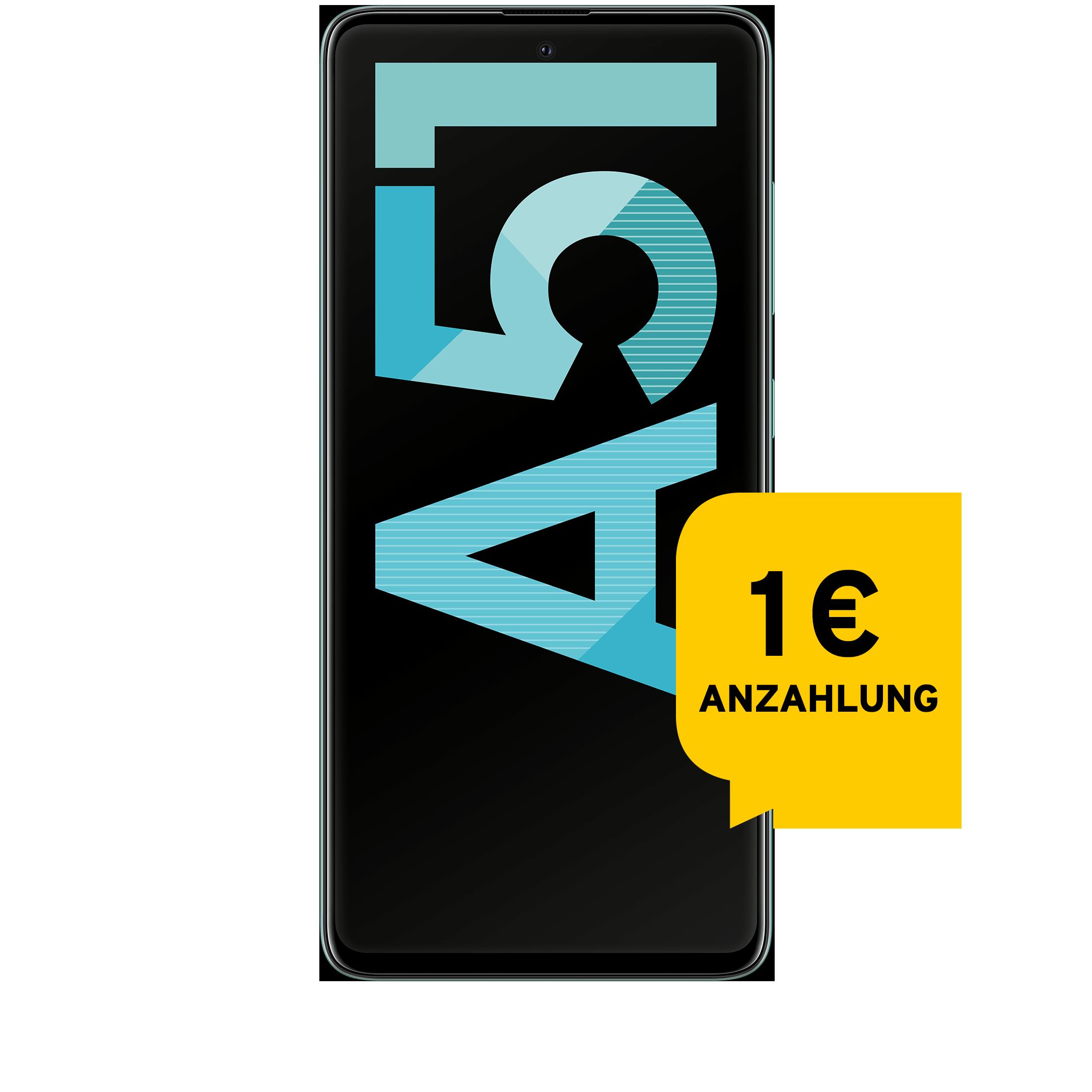 Günstig Kaufen beim Preisvergleich-Samsung Galaxy A51 128 GB prism crush blue Aktion mit Allnet Flat L