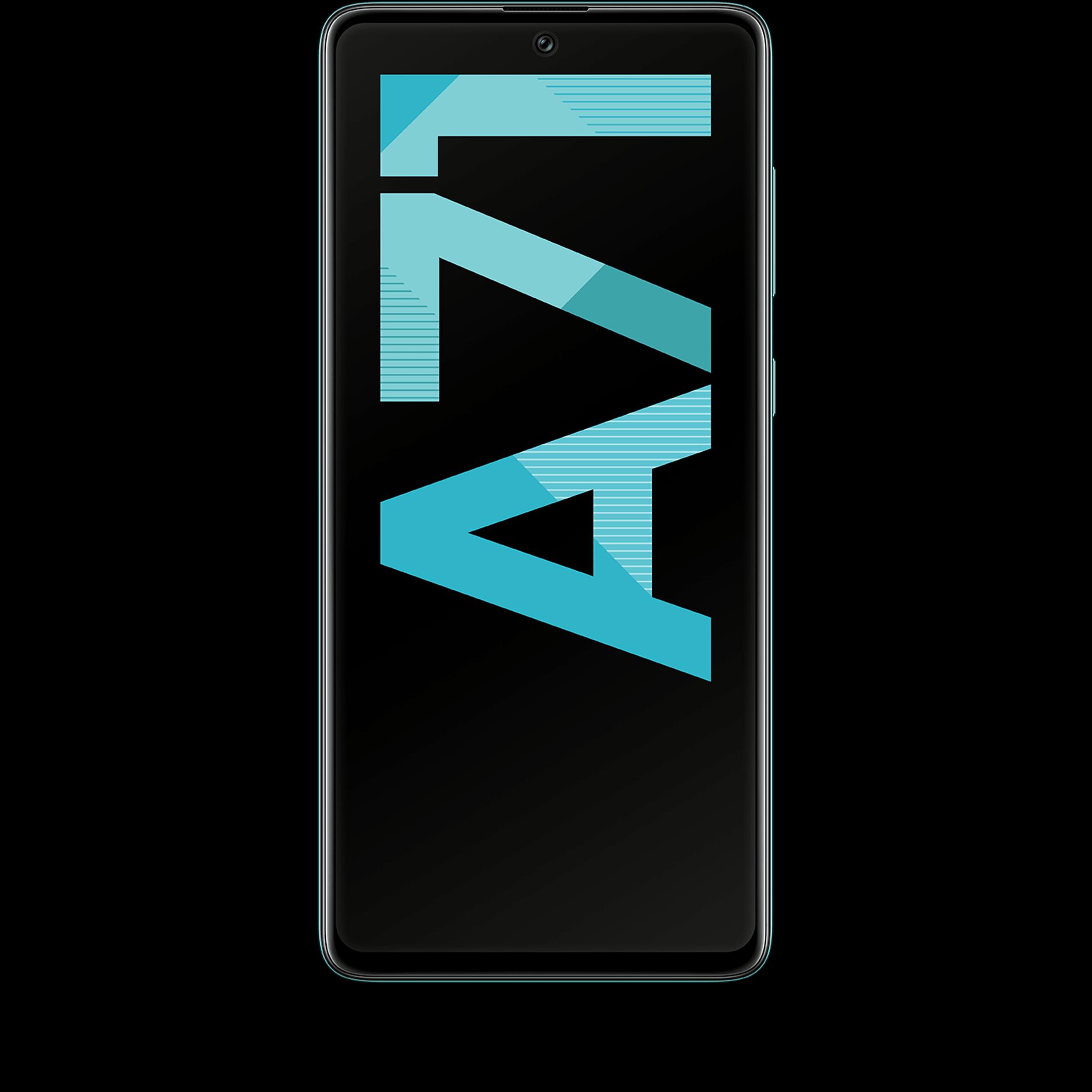 Günstig Kaufen beim Preisvergleich-Samsung Galaxy A71 128 GB prism crush blue mit Allnet Flat L