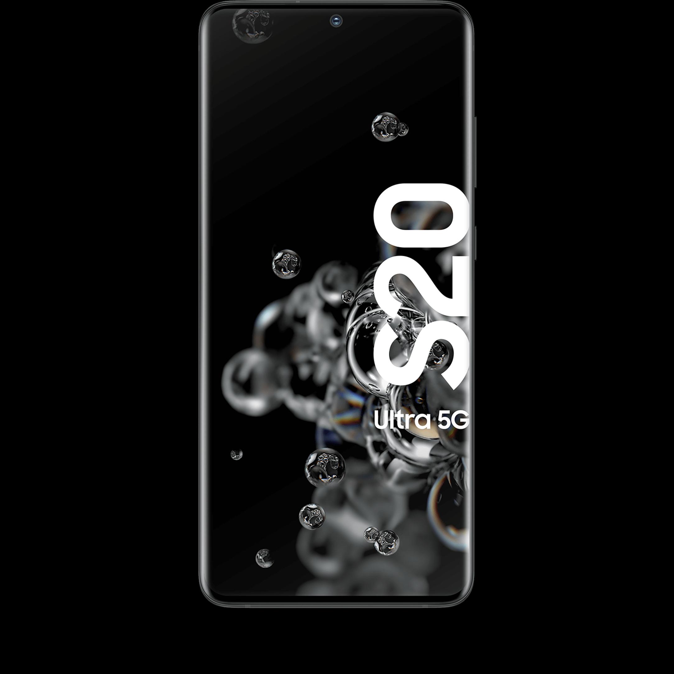 Günstig Kaufen beim Preisvergleich-Samsung Galaxy S20 Ultra 5G 128 GB black mit Allnet Flat L