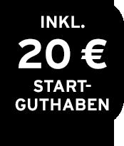 20 € Startguthaben