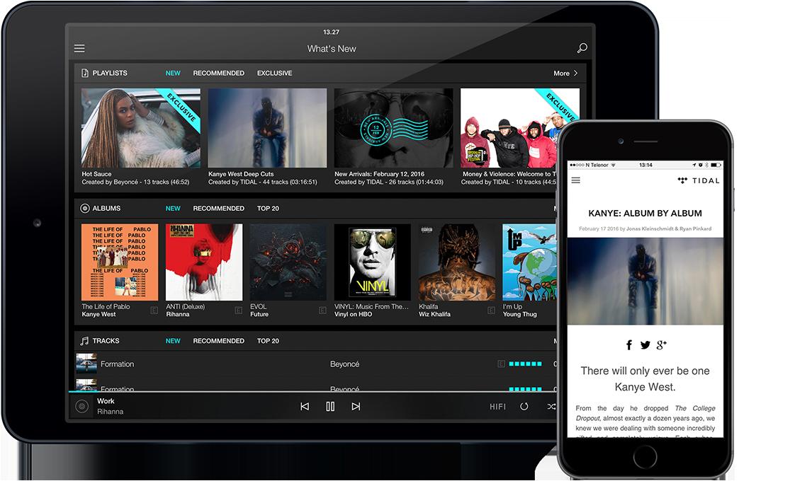 congstar Musik Option – TIDAL Premium