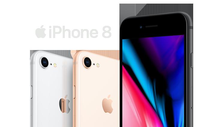 Allnet Flat Plus mit iPhone 8 bestellen und Ersparnis sichern!